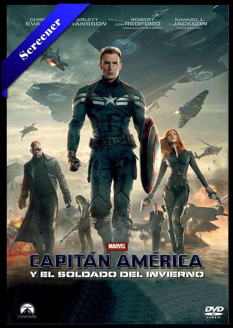 Capitan America El Soldado De Invierno HDTV Screener 2014