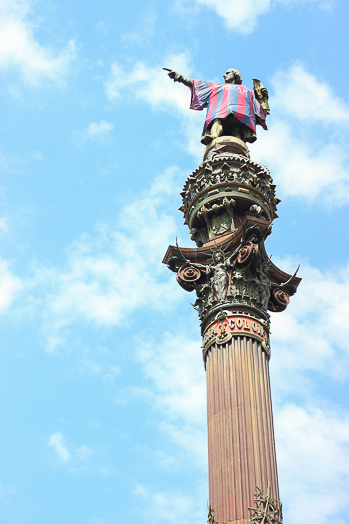 Christopher Columbus in Barcelona