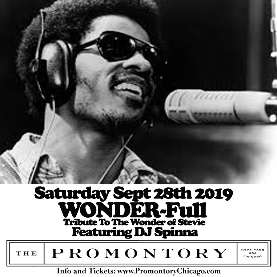 Sat 9/28: Sean Alvarez & Keistar Productions present WONDER-Full Tribute To The Wonder of Stevie