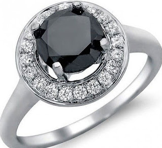 The 1.65ct Elegant black diamond engagement rings Vintage Design is one of the majority of beautifully distinctive engagement rings accessible.
