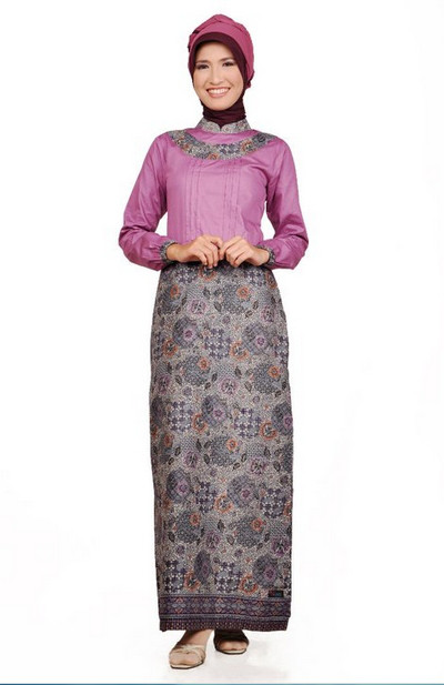 Kelizamos Model Baju Muslim Batik Ke Pesta Menarik