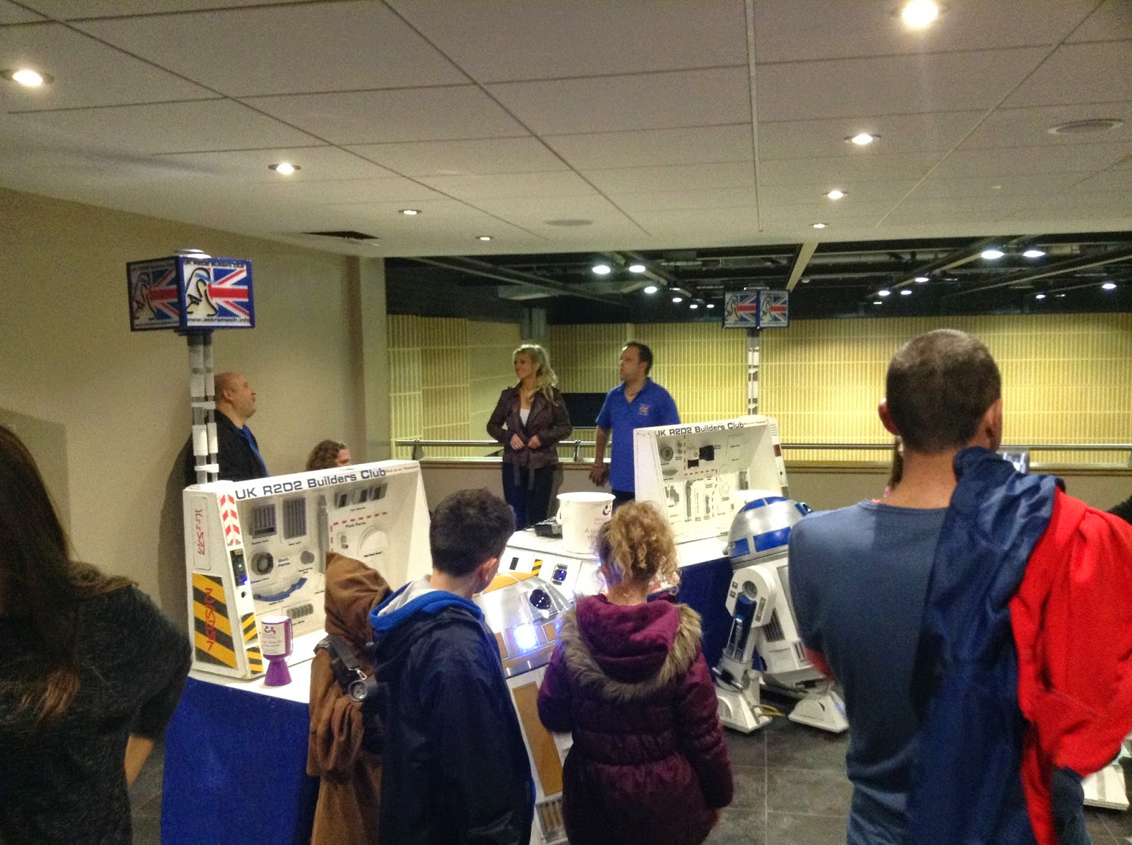 UK R2 Builders Club stand