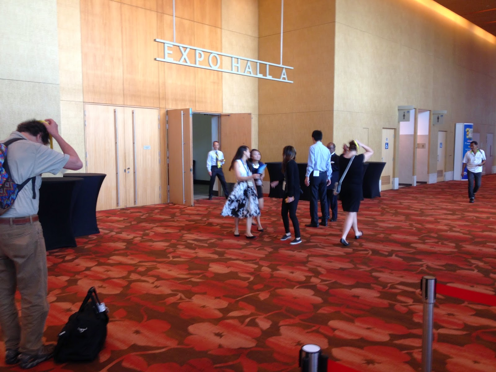 Marina Bay Sands Expo Center  - Hall A Entrance