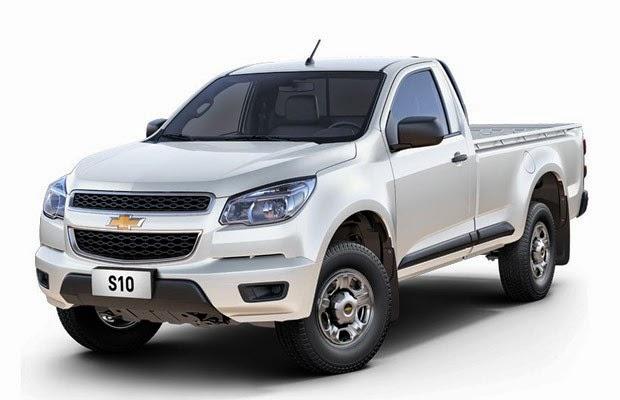 Nova Chevrolet S10 2014 2015 cabine simples