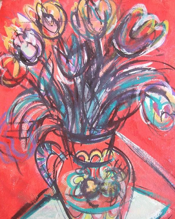 Fiesta Flowers by Char Fitzpatrick