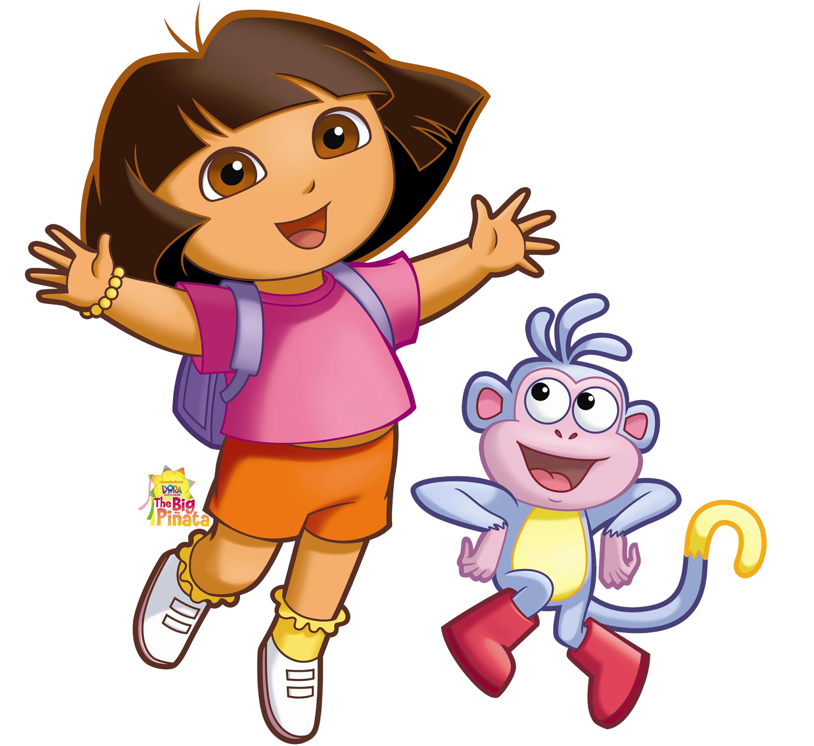 1 Cartoon Character : Cartoon characters dora the explorer png