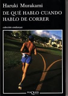 """Portada del libro """"De qué hablo cuando hablo de correr"""", de Murakami"""