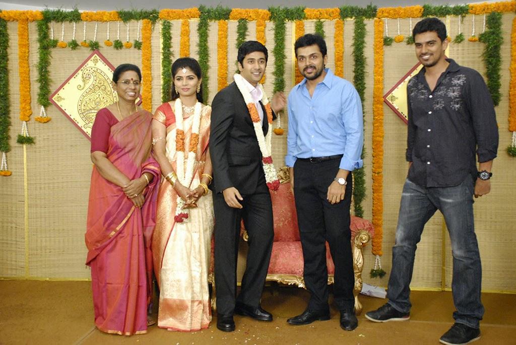 Rahul and Chinmayi wedding reception photos-HQ-Photo-3