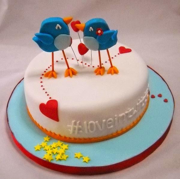 Bánh sinh nhật tặng người yêu
