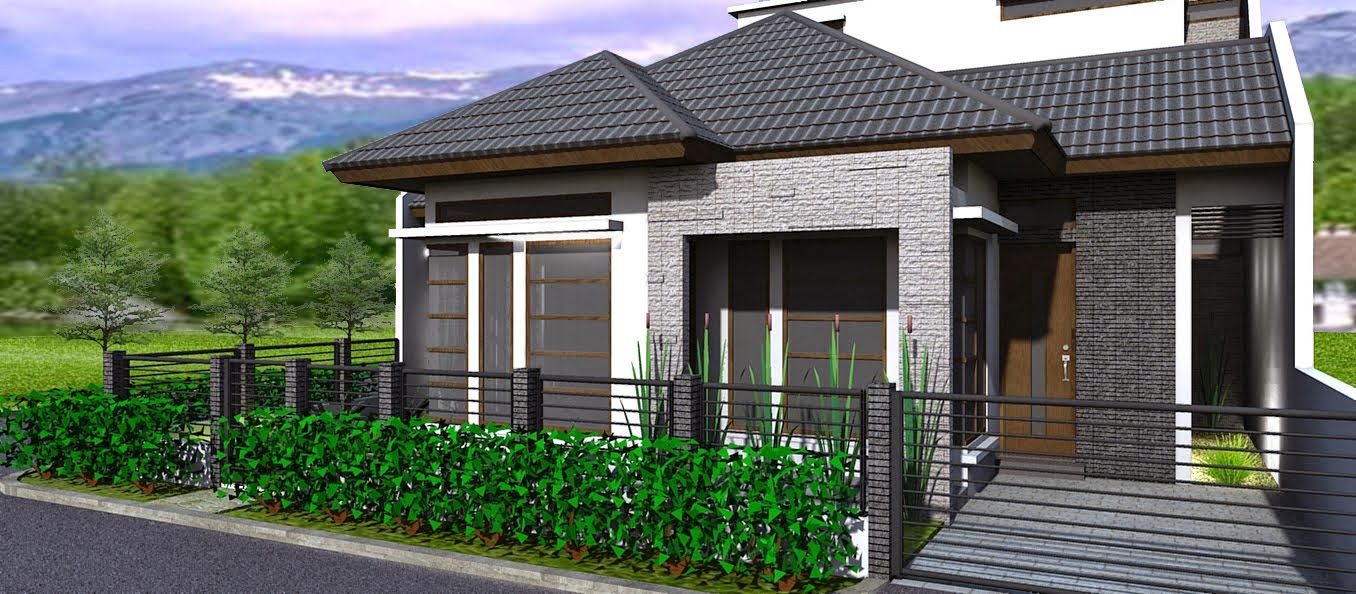 Contoh Gambar Rumah