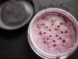 Notoriously Morbid MaryAnns Misery Swatch