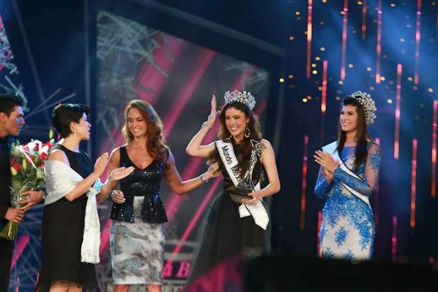 Miss Nuestra Belleza Mexico Mundo 2013 winner Daniela Alvarez Reyes