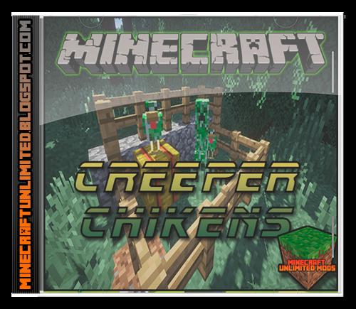 Creeper Chickens Mod