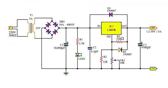 circuit diagram 12v to 6v  | 460 x 230