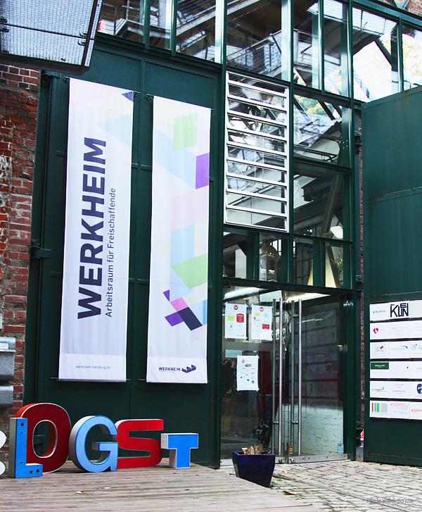 Blogst Werkheim Hamburg Eingang