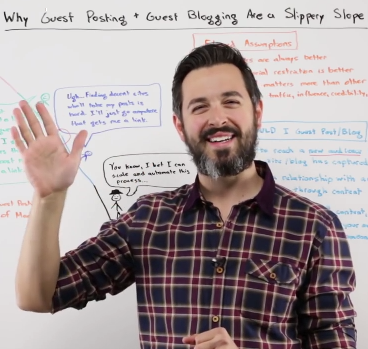 Why Guest Posting on Blogs is a Slippery Slope