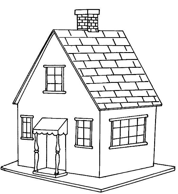 Kitchen Design Drawing With Color: РАЗВИТИЕ РЕБЕНКА: Раскраски Домик, Дом, Особняк, Дача, Хата