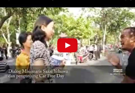Video waspada kristenisasi di car free day Solo