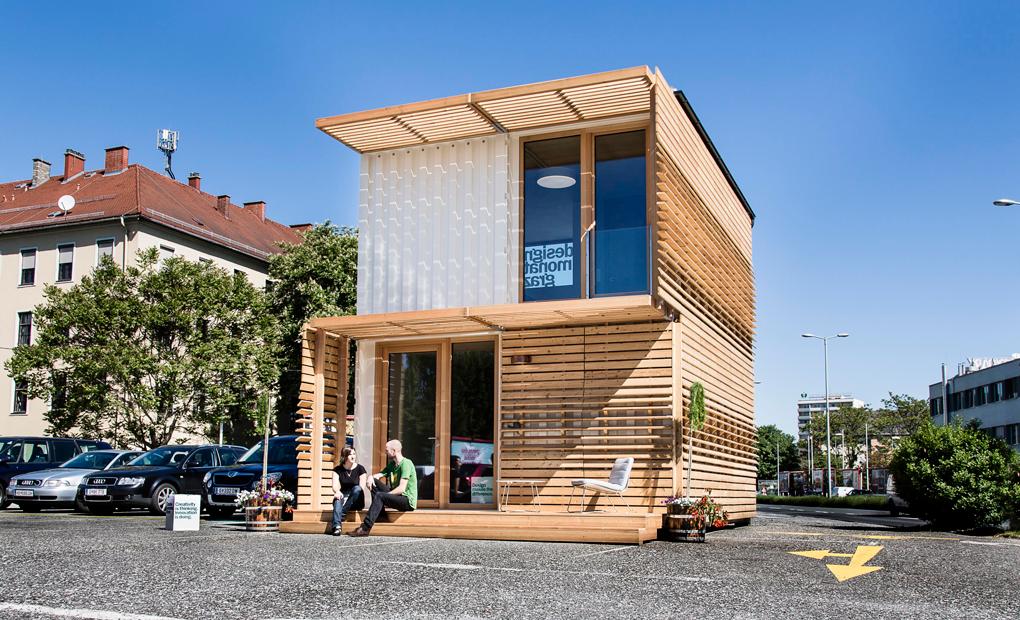 Casas contenedores commod house una casa modular hecha - Casa hecha con contenedores ...