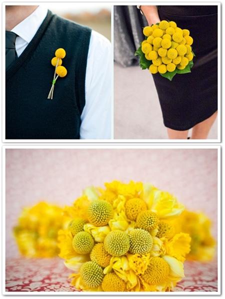 gul brudbukett, brudbukett med påskliljor, bridal bouquet yellow, bridal bouquet daffodils
