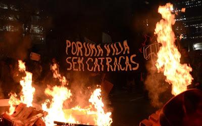 Movimento Passe Livre em São Paulo - Um Asno