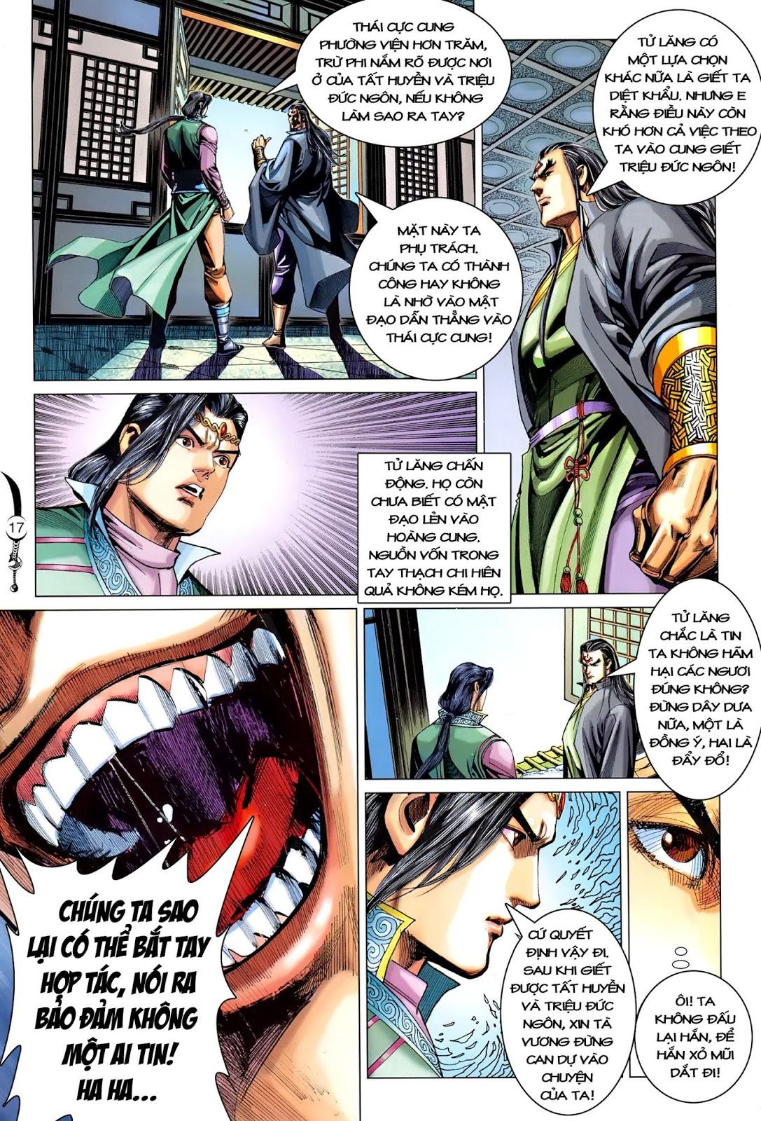 Đại Đường Song Long Truyện chap 216 - Trang 19
