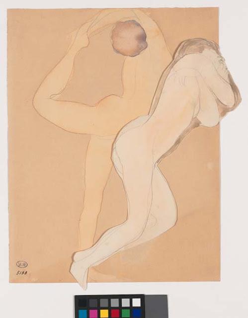 Couple féminin, © Musée Rodin - Photo Jean de Calan