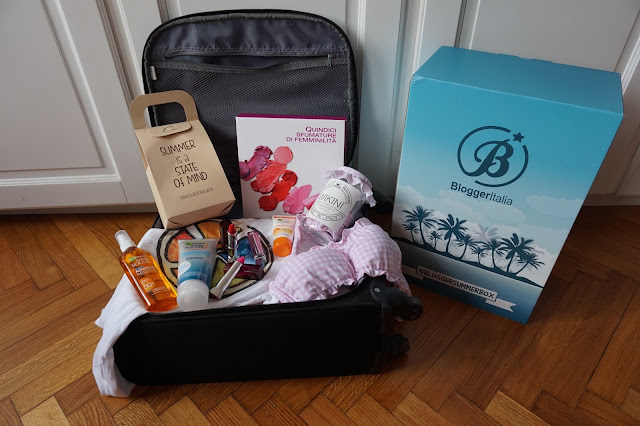 #bloggersummerbox bloggeritalia collaborazione