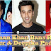 Salman Khan bans Ranbir Kapoor – Deepika Padukone