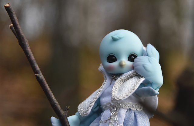 soom doll chici blue bird