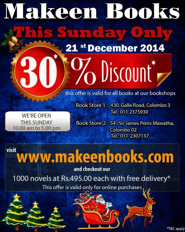 Makeenbooks.com is the ecommerce portal of Makeen Books the long established book distributor in Sri Lanka .  Makeen Books can trace its bookselling heritage to the early part of the 20th century when it was established in the heart of the commercial district of that time which was Main Street in Pettah. Over the years it has evolved and today in addition to its brick and mortar stores, our ecommerce website makeenbooks.com is the top online book buying destination for thousands of customers.