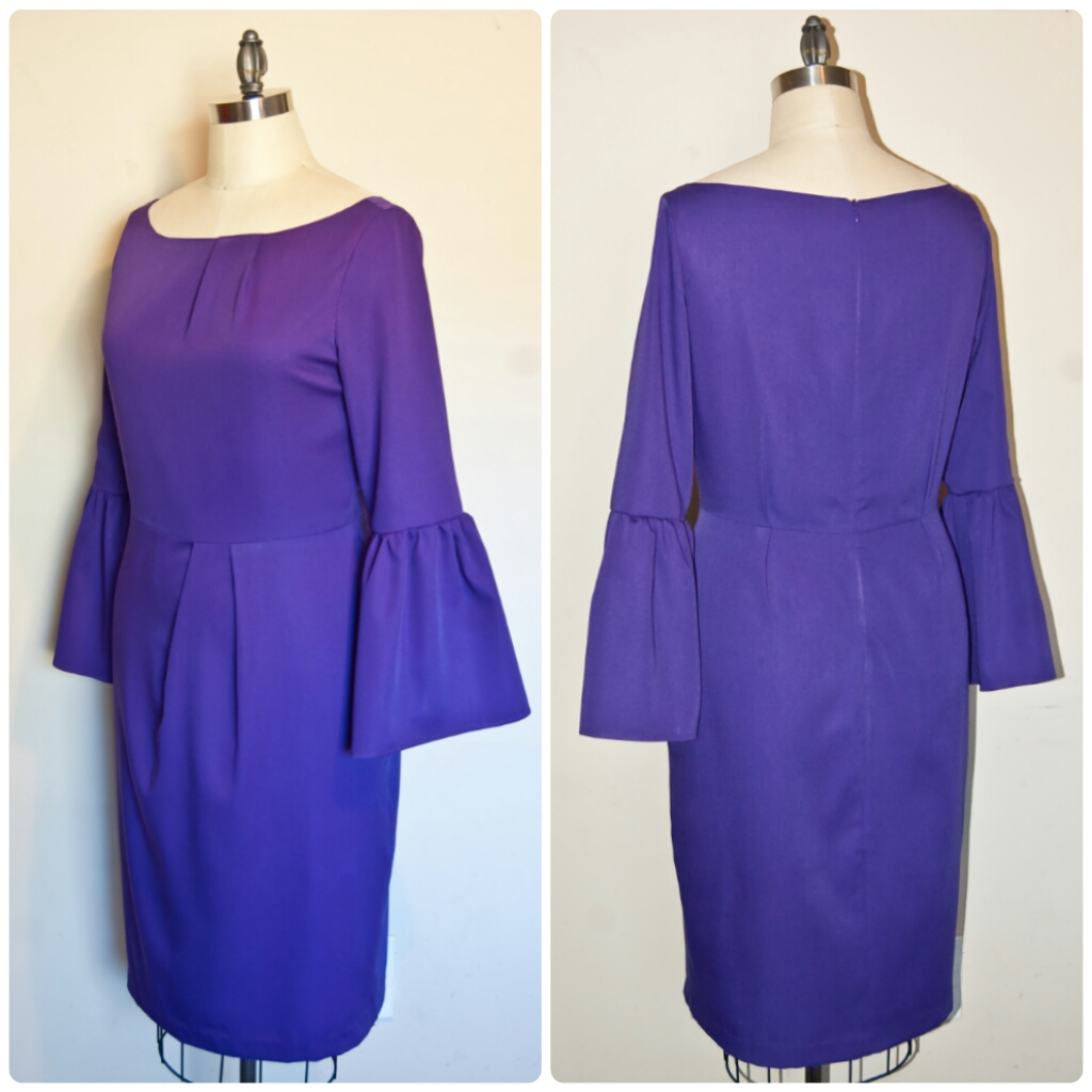 DIY Purple Dress