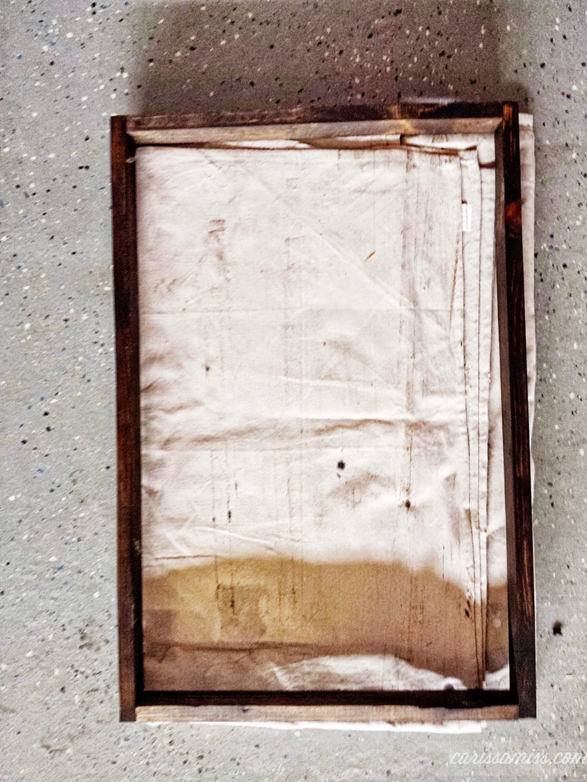 diy floating frame tgif this grandma is fun you can use wood glue as well to - Diy Floating Frame