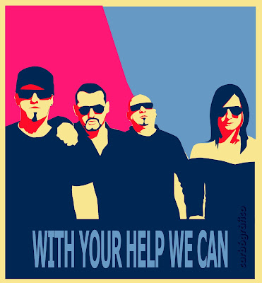 with your help we can,carbografico