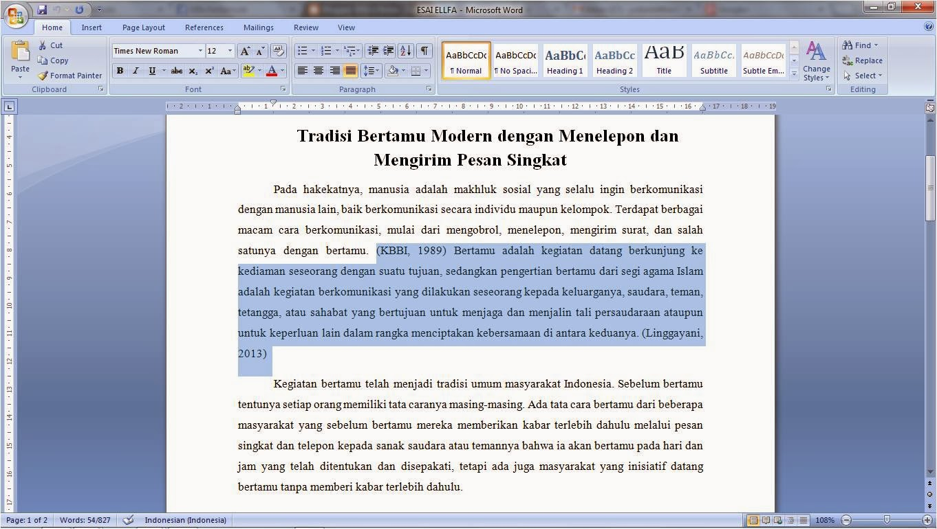 essay writings for colleges