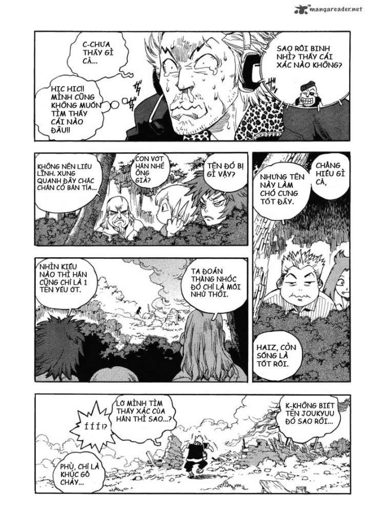 Aiki chap 84 - Trang 16