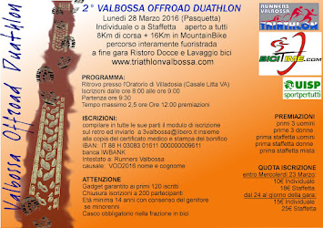 2° V-O-D Valbossa Offroad Duathlon