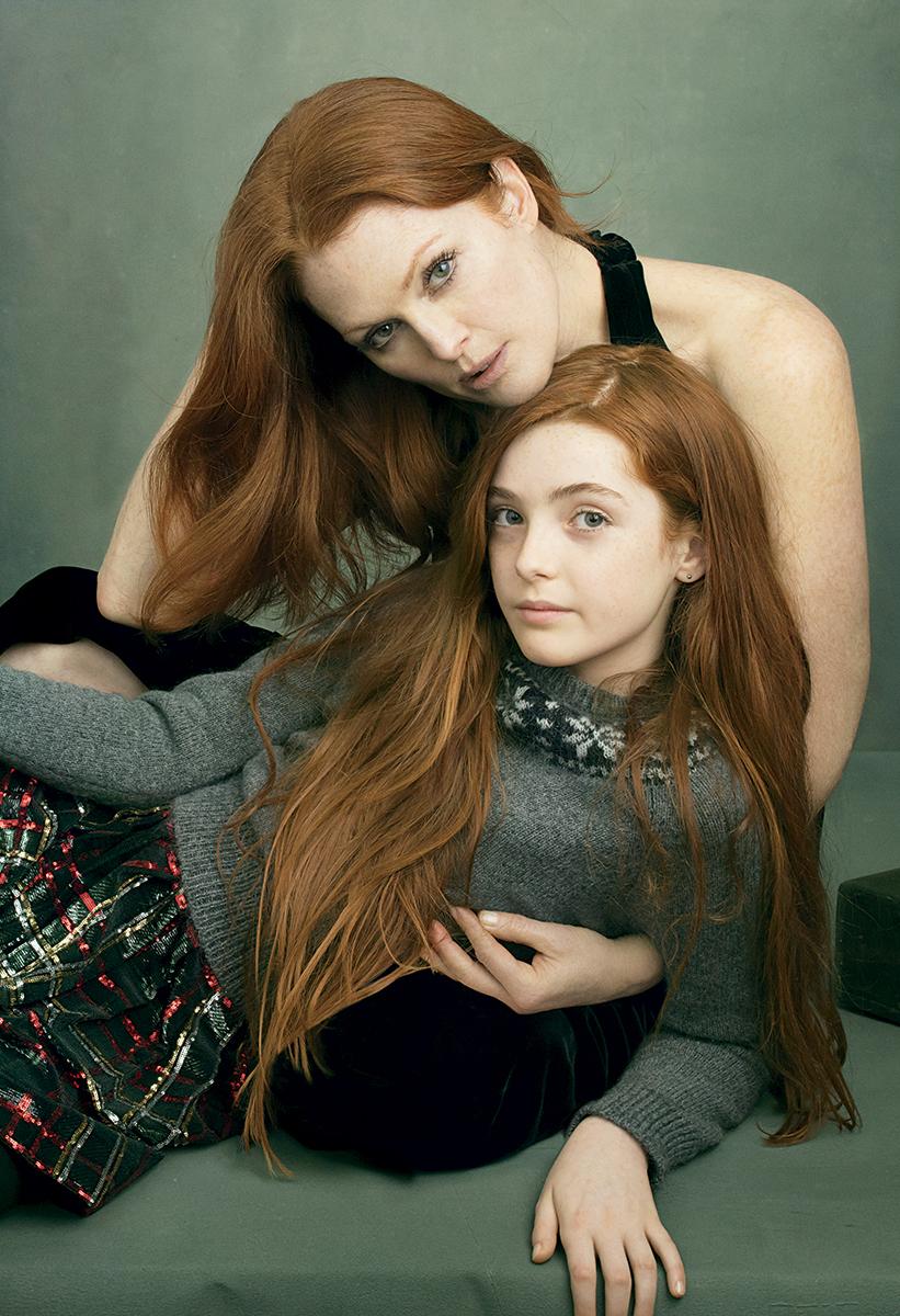 Рыжая дочь и 11 фотография