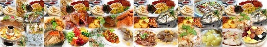 ภาพรายการอาหารโต๊ะจีนของร้านบางส่วน
