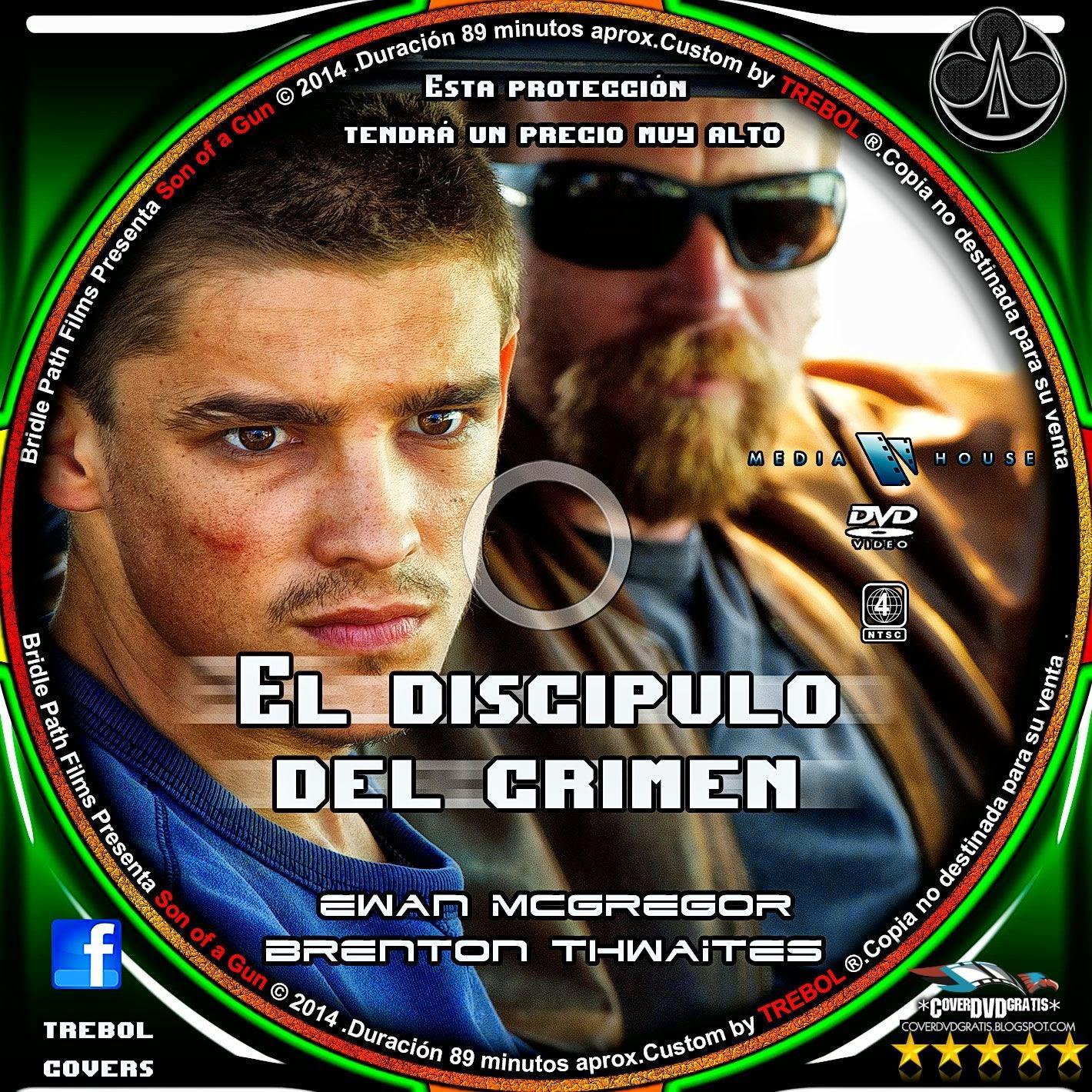 Son Of A Gun 2014 DVD COVER