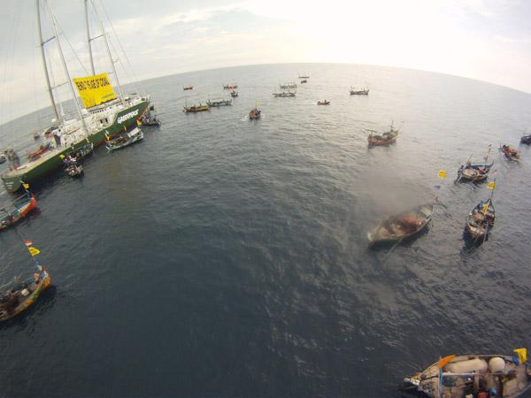 Greenpeace Soroti Legalitas Peresmian PLTU Batang