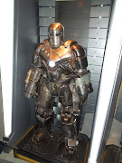 Iron Man Mark I armour. The many suits of the armoured Avenger feature in . (ironman marki armor)