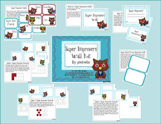 super improvers wall, SIW, super improvers wall kit, super improvers wall freebie, super improvers wall owl theme