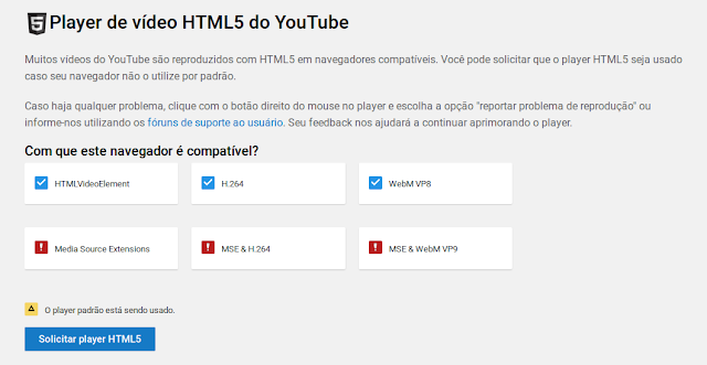 HTML 5 no Firefox