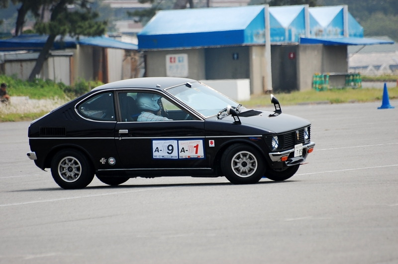 Suzuki Fronte Coupe, LC10W, klasyki do wyścigów, fajne małe samochody, ciekawe klasyczne auta