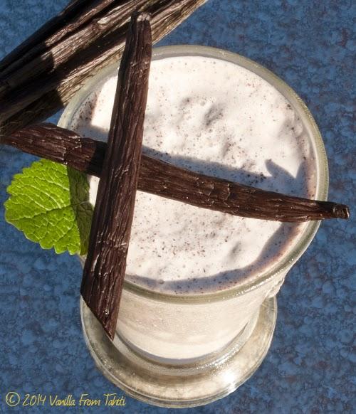 Tahitian Vanilla Bean Malted Milkshake