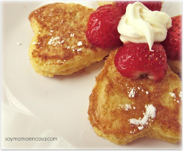 receta facil tostadas a la francesa