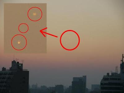 直擊UFO 光體