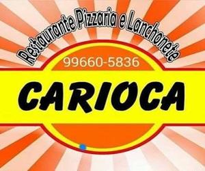 Em Orobó escolha a melhor opção. Restaurante, Pizzaria e Lanchonete o Carioca!