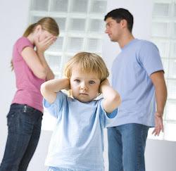 Los niños también sufren la violencia de género